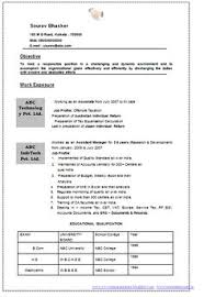 Two Page Resume Format Example by International Level Resume Samples For International Jobs Dubai