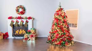christmas trees with ribbon to put on a tree youtube remodelaholic