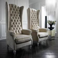 High Back Chairs For Living Room Amazing Chic High Back Chairs Fair High Back Living Room Chairs