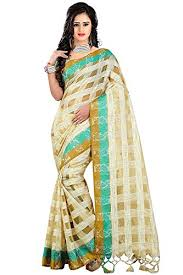Buy Green Plain Cotton Silk Plain Cotton Silk Saree With Blouse Buy Latest Collections