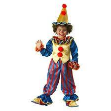 Kids Halloween Clown Costumes Kids Clown Halloween Costumes Ebay