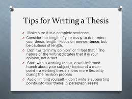 thesis length Willow Counseling Services