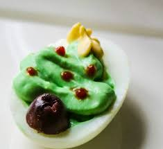 christmas tree deviled eggs a festive spin on a classic