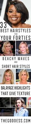 even hair cuts vs textured hair cuts 33 best hairstyles for your 40s the goddess