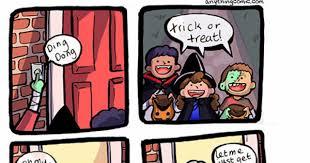 Trick Or Treat Meme - trick or treak comic weknowmemes