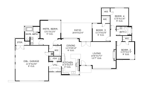 4 bedroom house floor plans pdf