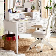 pottery barn desk with hutch lilac desk hutch pbteen