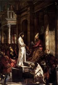 imagenes de jesus ante pilato cristo ante pilatos tintoretto wikipedia la enciclopedia libre