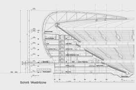 allianz arena architectural drawings plans u0026 designs