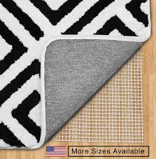 the original gorilla grip non slip area rug pad u0026 mattress gripper