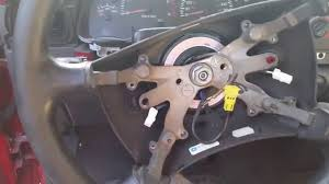 how to remove steering wheel on a 1995 2001 dodge ram youtube