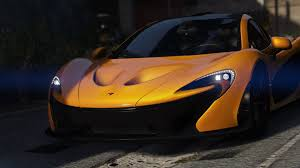 mclaren p1 custom paint job mclaren p1 sound handling gta5 mods com