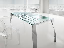 Contemporary Italian Dining Table Nella Vetrina Tonelli Luz De Luna Contemporary Italian Dining Table