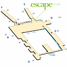 Bwi Airport Map Minneapolis Escape Lounge Escape Lounges Escape Lounges