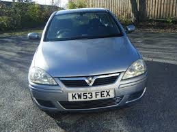 vauxhall corsa 2004 vauxhall corsa 1 0 design 12v twinport 3dr for sale in heywood
