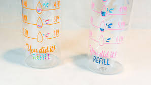 lilly pulitzer water bottle tracker from first impression