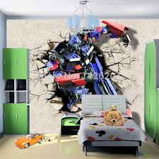 transformers bedroom 3d transformers cartoon photo wall paper murals for kids bedroom