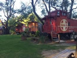 California Bed And Breakfast The Featherbed Railroad Caboose Bed And Breakfast Is The Best