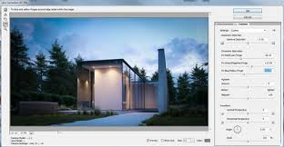 house lens making of house roces 3d architectural visualization rendering
