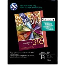 brochure templates hp hp inkjet matte brochure letter paper 8 5 x 11 ch016a