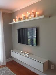 Tv Walls by I Like The Candle Shelf Maybe To Put On A Bare Wall Above A Long