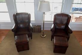 chairs club sofa angle leather chair with ottoman moran