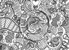 free printable abstract coloring pages for adults mandala free