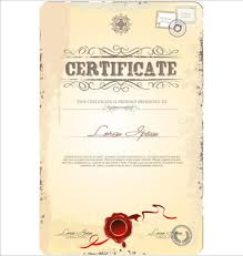 certificate frame template adobe illustrator free vector download