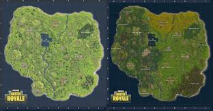 map new map fortnite map vs new map where is the underground mine and
