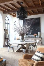 dining tables glamorous round rustic wood dining table round