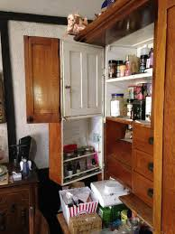 deluxe 1900 elwell kitchen cabinet with bins and breadboxes