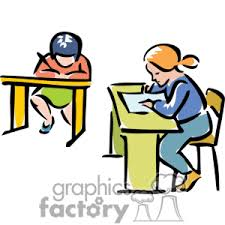 Student Desk Clipart College Classroom Clipart 29