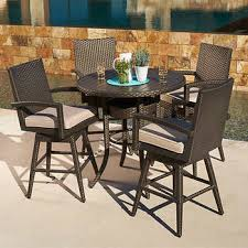 Outdoor Bar Table And Stools Outdoor Bar Stools Sets Costco