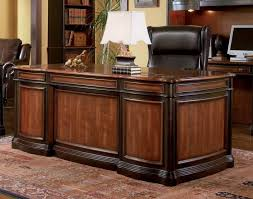 Executive Home Office Furniture Sets Desk Simple Wood Desk Non Rolling Office Chair Office