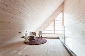 Wooden Interior by Wooden House U0027s Interior Replicates The Sensation Of Being Outdoors
