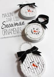jar lid snowman ornaments confessions of a serial do it