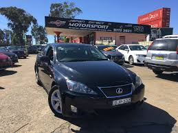 lexus cars australia 2007 lexus is250 japanese used cars importers and dealers in
