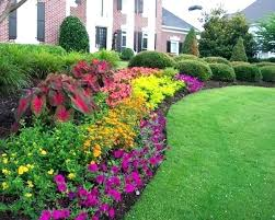 Perennial Garden Design Ideas Simple Flower Garden Design Simple Flower Bed For Garden Flower