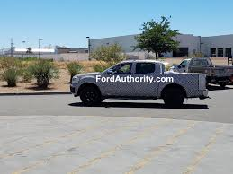 Ford Ranger Utility Truck - spied 2019 ford ranger hauling sand ford authority