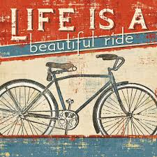 is a beautiful ride quote poster taolife studio