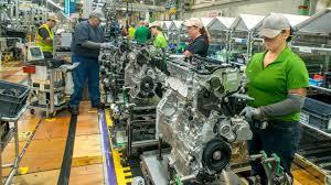 toyota highlander indiana factory line toyota u0027s first u s built hybrid engine will be for highlander