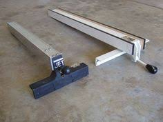 aftermarket table saw fence systems table saw upgrade new fence rail with steel and 80 20 aluminum table