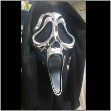 scream ghost face 25th anniversary mask limited availability