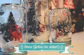 craft in a jar no water snow globe jenny on the spot