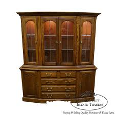 solid oak china cabinet 9493ax nathan hale solid oak china cabinet bucks county estate