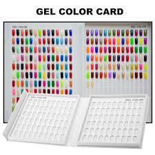 online buy wholesale nail gel color card from china nail gel color
