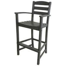 slate grey outdoor bar stools outdoor bar furniture the home
