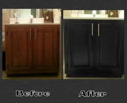 Refinished Cabinets Bathroom Restain Bathroom Cabinets Restain Bathroom And Kitchen