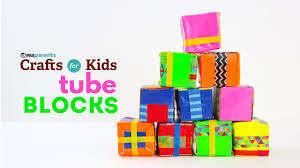 tube blocks pbs parents crafts for kids youtube