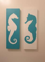 Horse Themed Bathroom Decor Best 25 Seahorse Decor Ideas On Pinterest Coastal Dresser